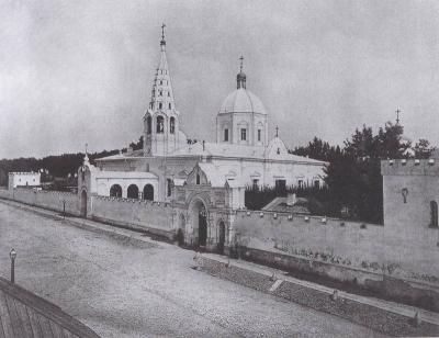 Алексеевский монастырь, 1882
