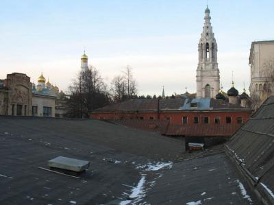 Вид на Кремль с крыши дома Розанова. Фото А.Можаева