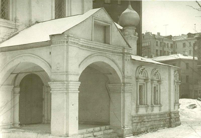 Придел и южное крыльцо, 1962
