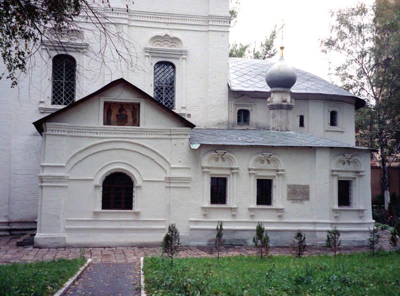 Придел и южное крыльцо, 1997. Фото А.Котова