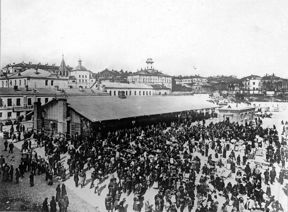 Обжорка на Хитровом рынке