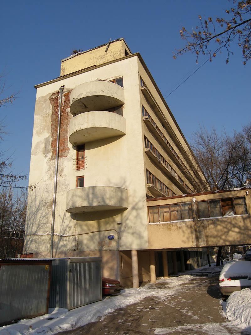 Дом Наркомфина, 2007