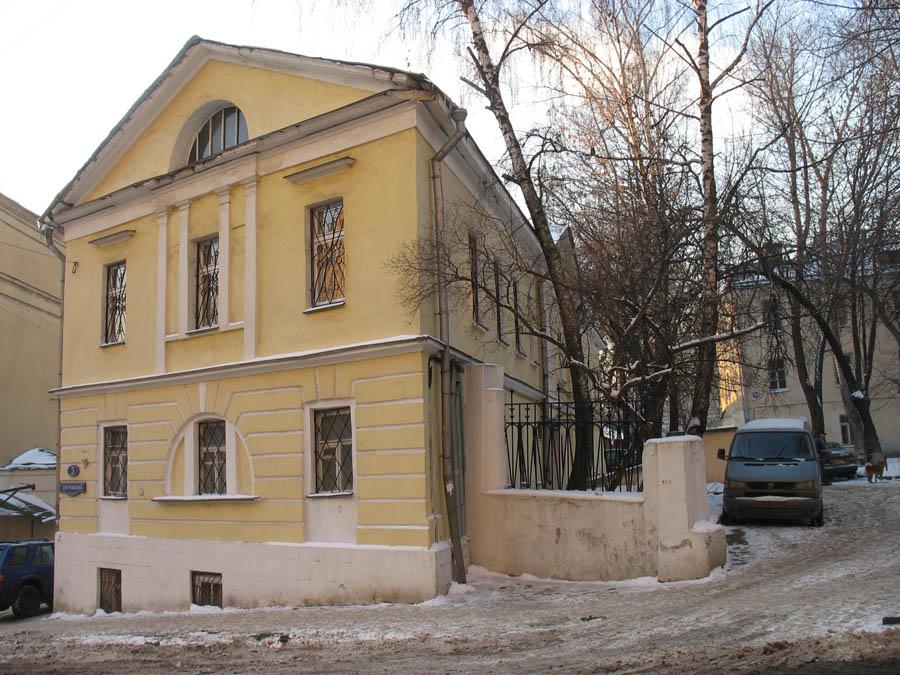 Флигель дома Бунина, фото А.Можаева