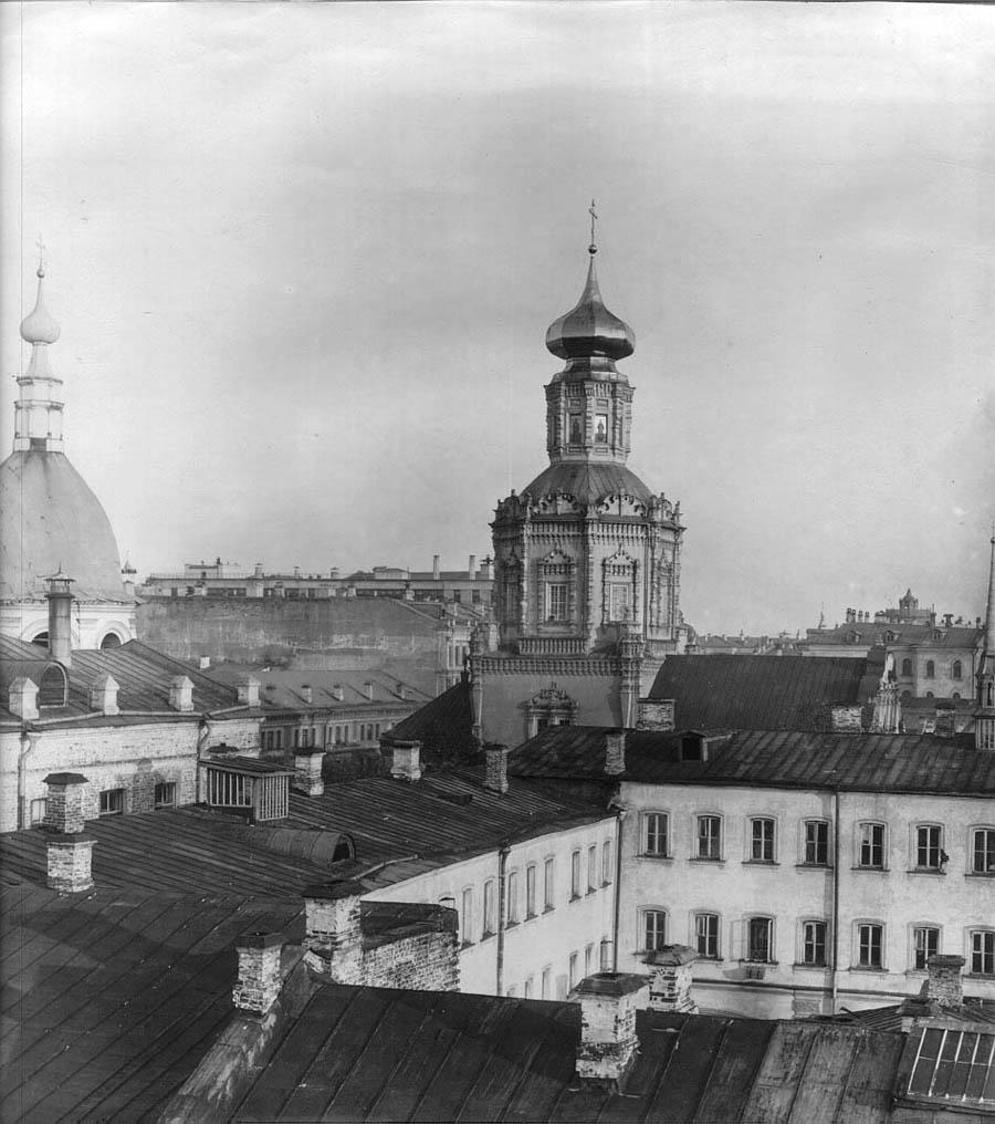 Богоявленский монастырь и Шевалдышевское подворье. Архив ЦИГИ