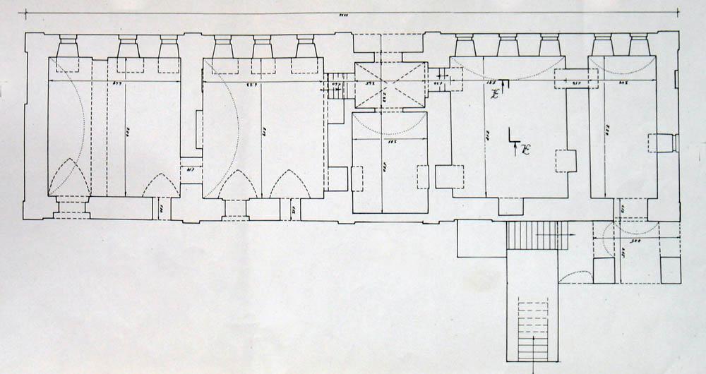План 1 этажа. Чертёж Т.Борисовой