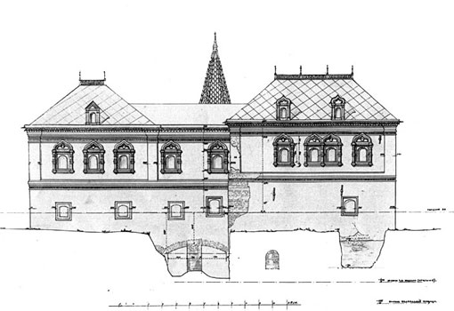 Северный фасад и Подземная палата. http://album.ftad.ru/22.shtml