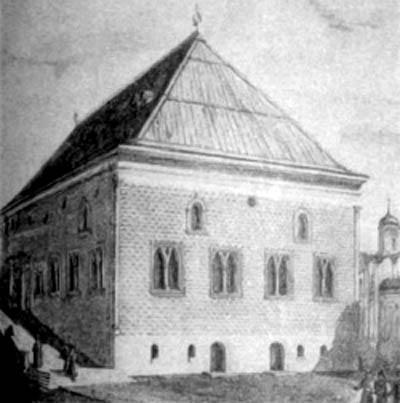 Грановитая в конце 15 века