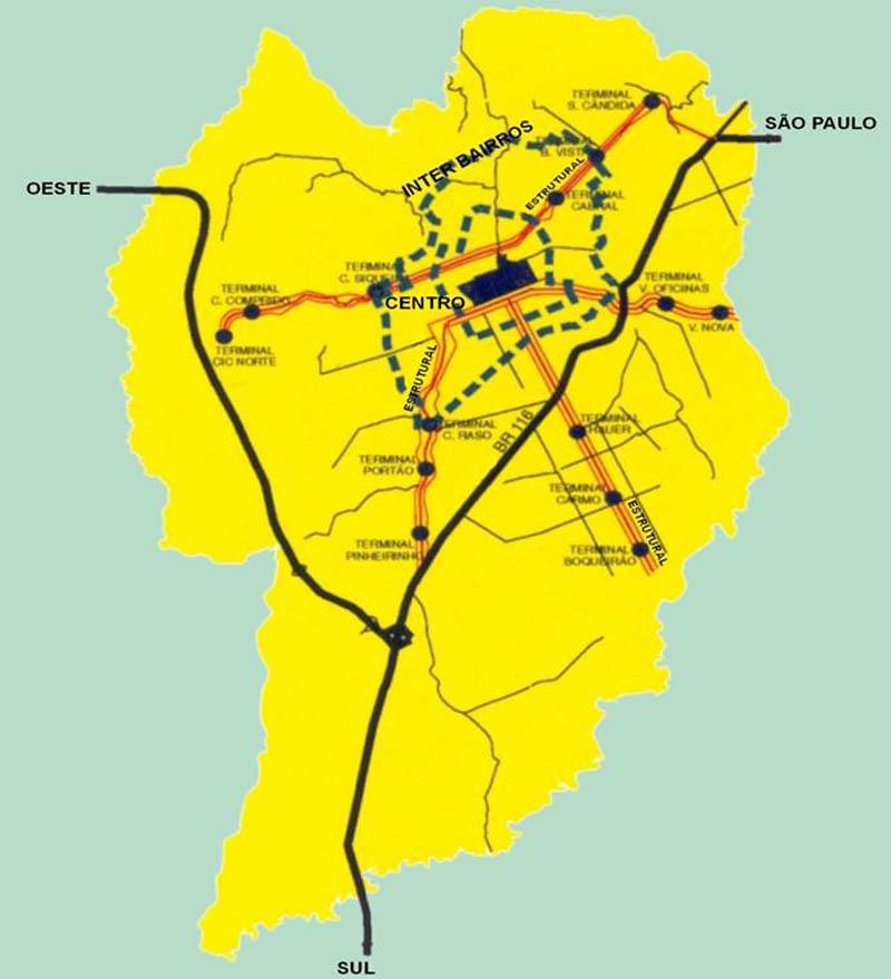 Принципиальная схема городской