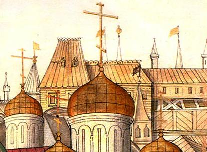 Хоромы царевен, 1674