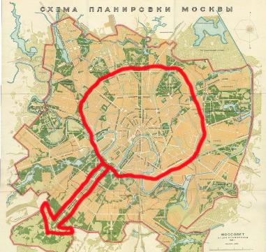 превратила бы Москву то ли
