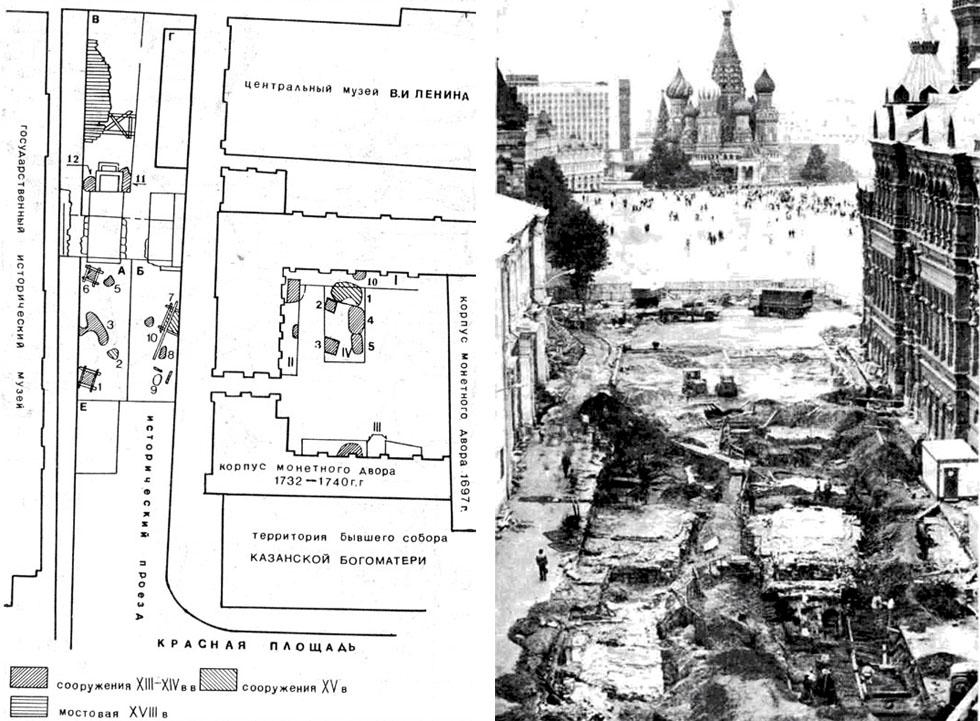 Исторический проезд и Манежная