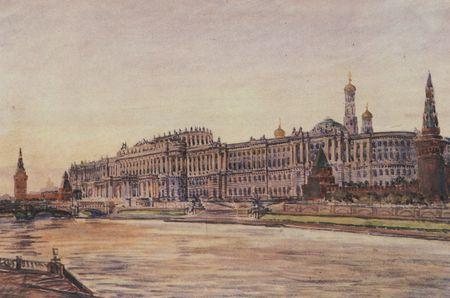 дворцы Кремля стали приходить