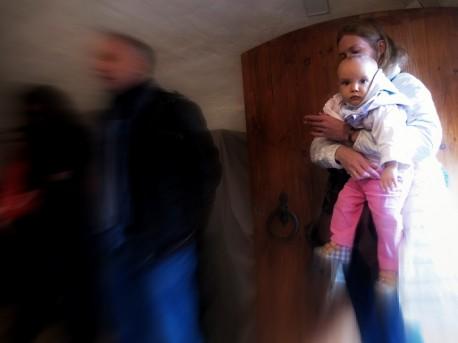 Посетители башни Згуры, 1 сентября, 2012г.