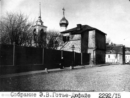 Чертольский переулок из собрания Готье-Дюфайе