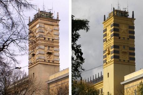 Башня Наркомата обороны, 2010- 2012г.