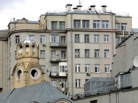 Дом Правительства, розовый карниз, сентябрь, 2012г.