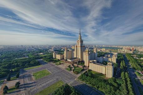 Здание Московского Государственного Университета на Ленинских горах