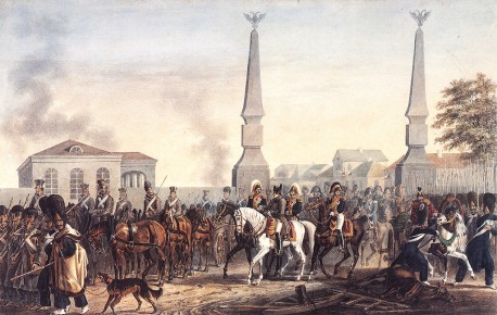 Наполеон у калужской заставы