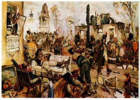 А. Кардовский. Москва в сентябре 1812 г.