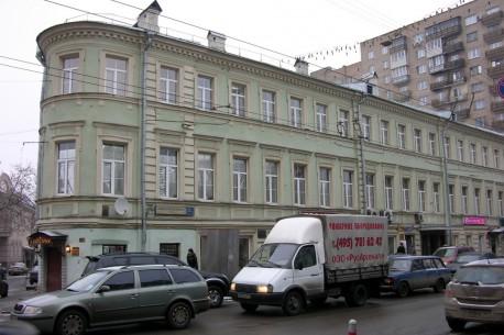 Дом Высоцкого до повреждения