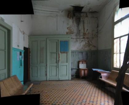 Интерьер станции Ильинское