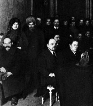 Ленин в Народном доме, Петроград, 13 марта 1919г.