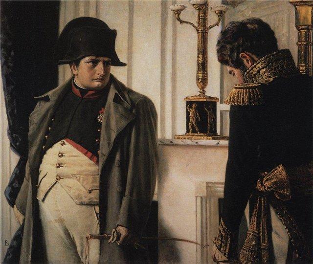 Верещагин В.В. Наполеон и маршал Лоринство (Мир во что бы то ни стало!) 1900