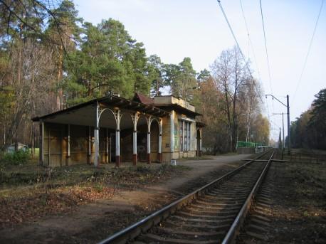 Вокзал Ильинское, 2006г.