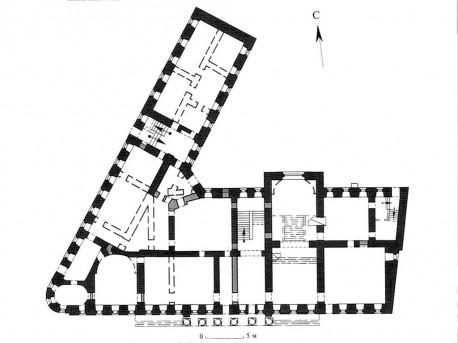 План первого этажа дома Высоцкого из Альбомов Казакова  (2)