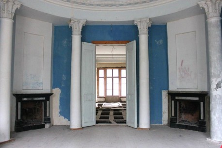Главный дом, голубая гостиная 2012