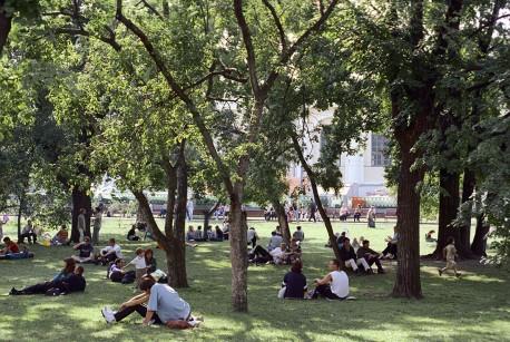 Александровский сад... было время