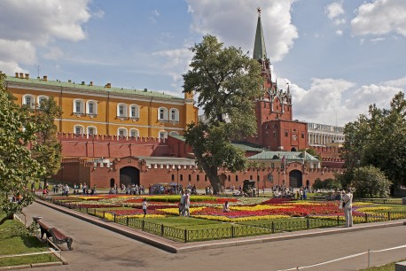 Александровский сад, легендарный тополь