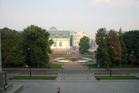 Александровский сад, общий вид