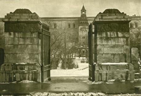 Александровский сад-ворота-1910-1914