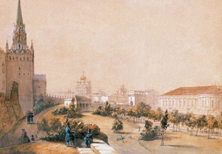 Александровский сад. Иосиф Шарлемань