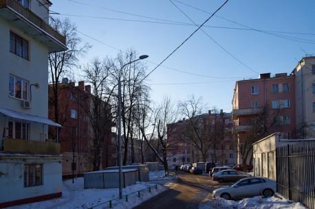 Буденновский, изгиб дороги