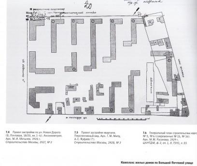 Генплан построенного городка, 1929 год