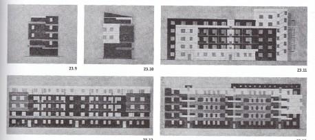 Хавско-Шаболовский жилой комплекс, проект покраски, арх. Х.Шепер, 1928 год