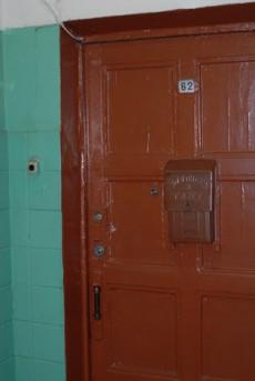 Буденновский, старая дверь квартиры