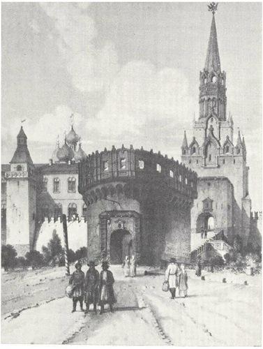 14. Кадолль. Кутафья-башня. 1839 г. ГБЛ, № 109874-79