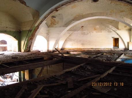 Круговое депо - демонтаж перекрытия