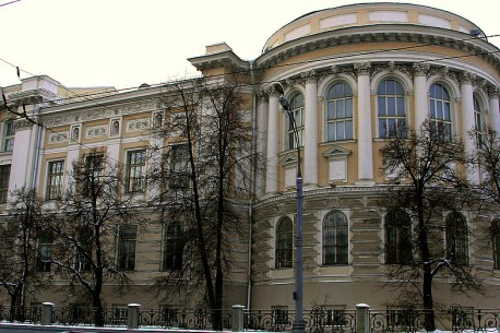 Научная библиотека МГУ на Моховой - декабрь 2012 года
