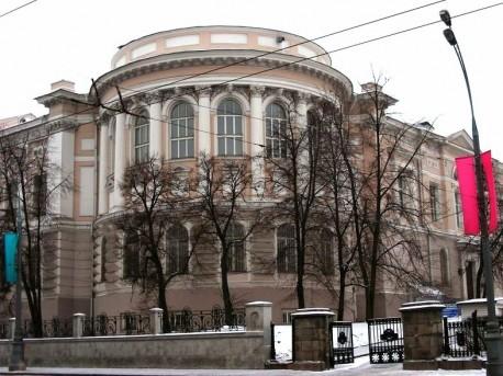 Научная библиотека МГУ на Моховой. 2009 год. Тюрина