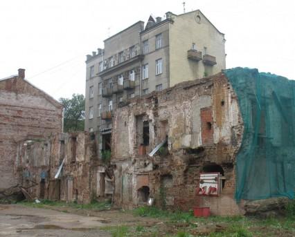 Палаты Зиновьевых до реставрации