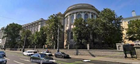 Здание научной библиотеки МГУ на Моховой
