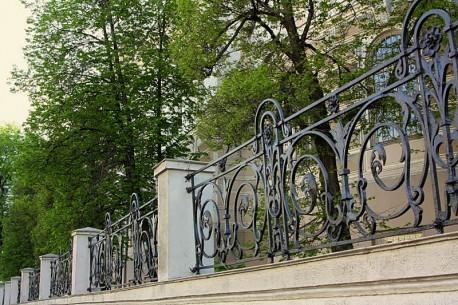 Ограда по рисунку К.Быковского