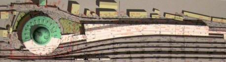 Реконструкция со сносом половины здания