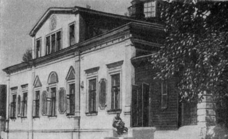Б.Земенков, Дом Погодина, 1959г.