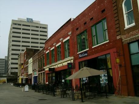 Ноксвилл, старинная рыночная площадь