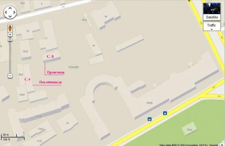 Ново-Екатерининская больница - Google карта